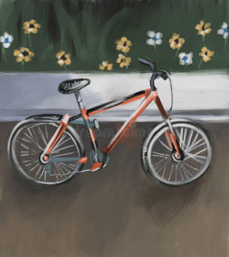 ποδήλατο απεικόνιση αποθεμάτων