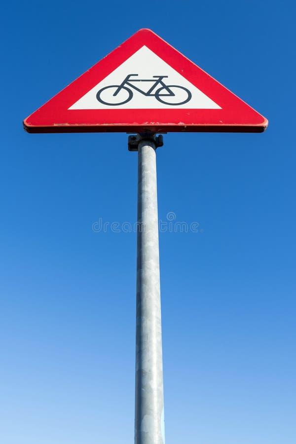 Ποδηλάτες και αναβάτες μοτοποδηλάτων στοκ φωτογραφία με δικαίωμα ελεύθερης χρήσης