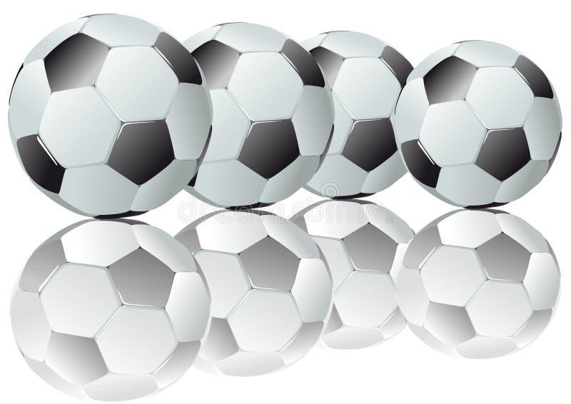 ποδόσφαιρα διανυσματική απεικόνιση