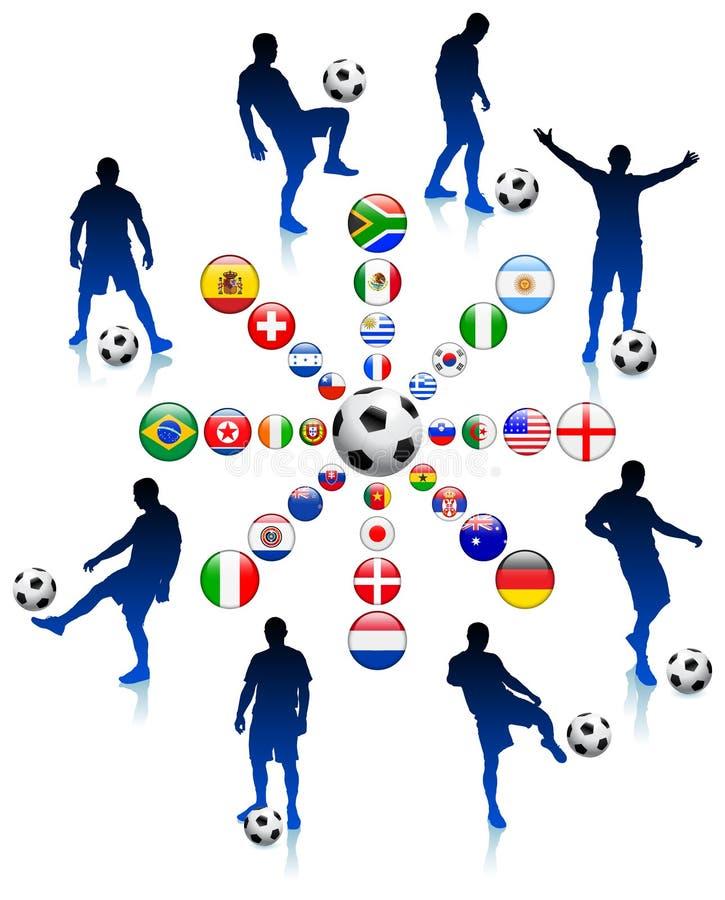 ποδόσφαιρο αγώνων ποδοσ&p ελεύθερη απεικόνιση δικαιώματος