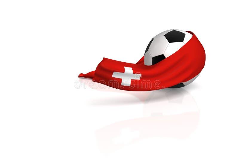 ποδόσφαιρο Ελβετός ανε&m ελεύθερη απεικόνιση δικαιώματος