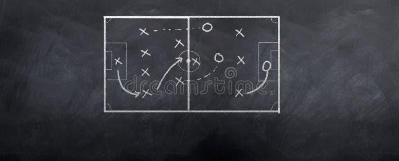 ποδόσφαιρο επίθεσης διανυσματική απεικόνιση