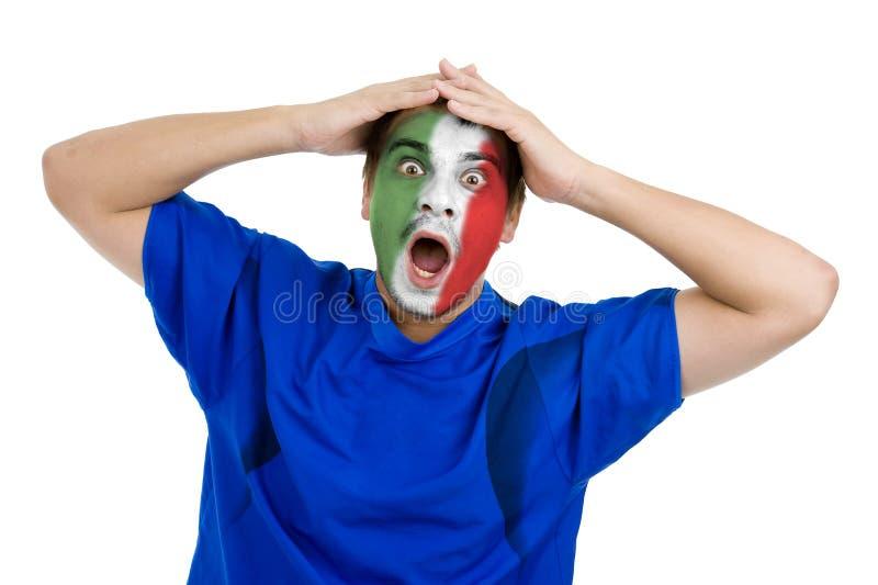 ποδόσφαιρο ιταλικά ανεμ&iot στοκ εικόνα με δικαίωμα ελεύθερης χρήσης