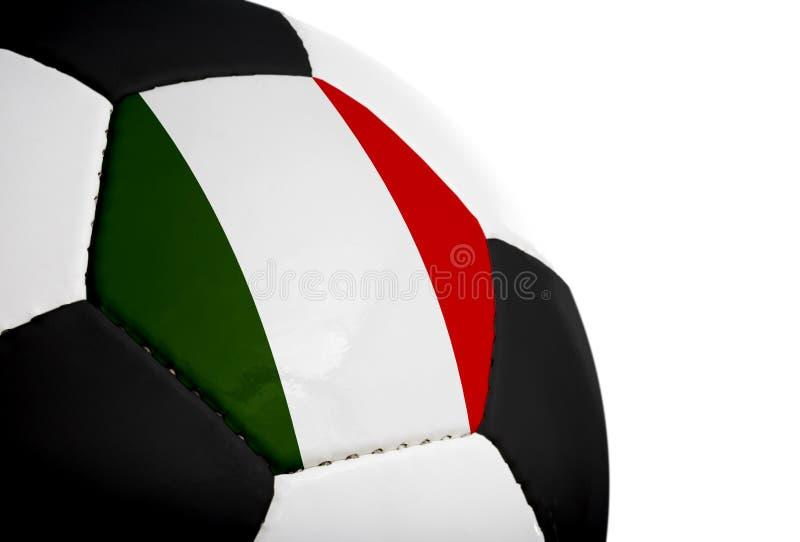 ποδόσφαιρο ιταλικά σημα&iota στοκ φωτογραφία