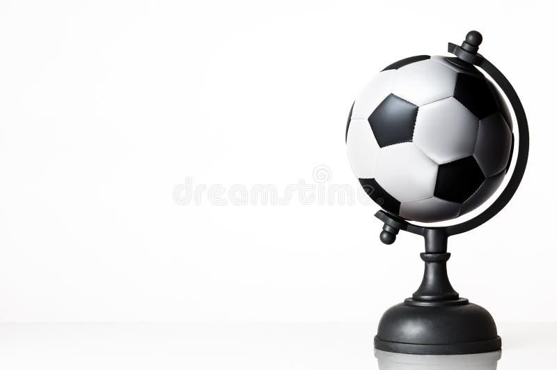 Ποδόσφαιρο παγκόσμιων σφαιρών στοκ εικόνα με δικαίωμα ελεύθερης χρήσης
