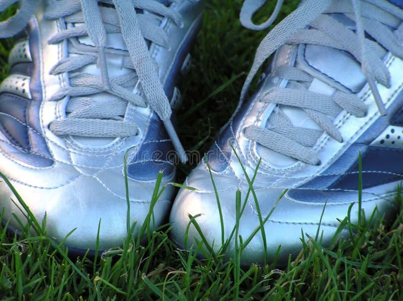 ποδόσφαιρο παπουτσιών στοκ εικόνα