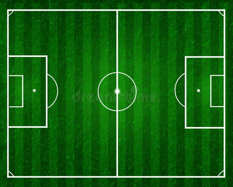 ποδόσφαιρο ποδοσφαίρου πεδίων ελεύθερη απεικόνιση δικαιώματος