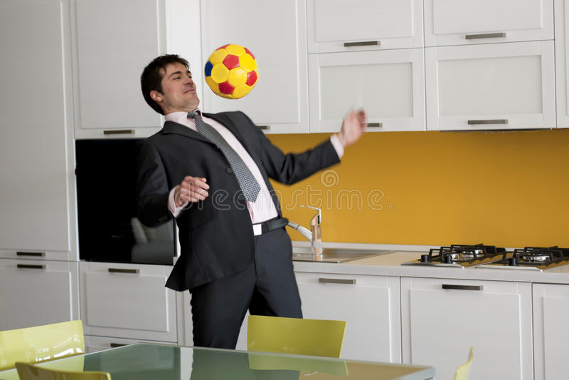 ποδόσφαιρο ποδοσφαίρο&upsi στοκ εικόνες με δικαίωμα ελεύθερης χρήσης
