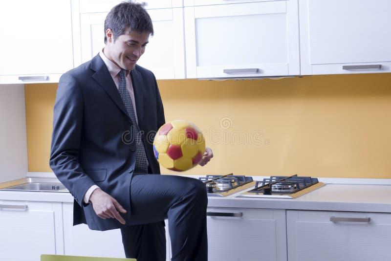 ποδόσφαιρο ποδοσφαίρο&upsi στοκ εικόνα με δικαίωμα ελεύθερης χρήσης