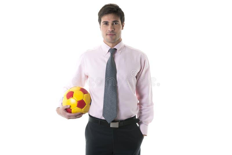 ποδόσφαιρο ποδοσφαίρο&upsi στοκ εικόνα