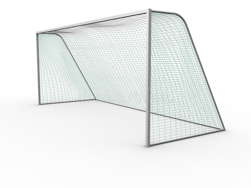 ποδόσφαιρο στόχου ελεύθερη απεικόνιση δικαιώματος