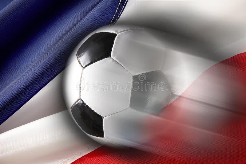 ποδόσφαιρο της Γαλλίας στοκ εικόνα