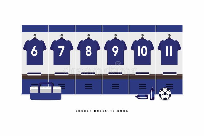 Ποδόσφαιρο της Ιαπωνίας ή βεστιάριο ομάδων ποδοσφαίρου ελεύθερη απεικόνιση δικαιώματος