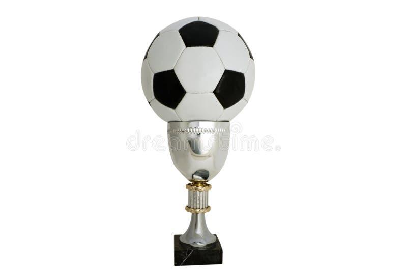 ποδόσφαιρο φλυτζανιών στοκ εικόνα με δικαίωμα ελεύθερης χρήσης
