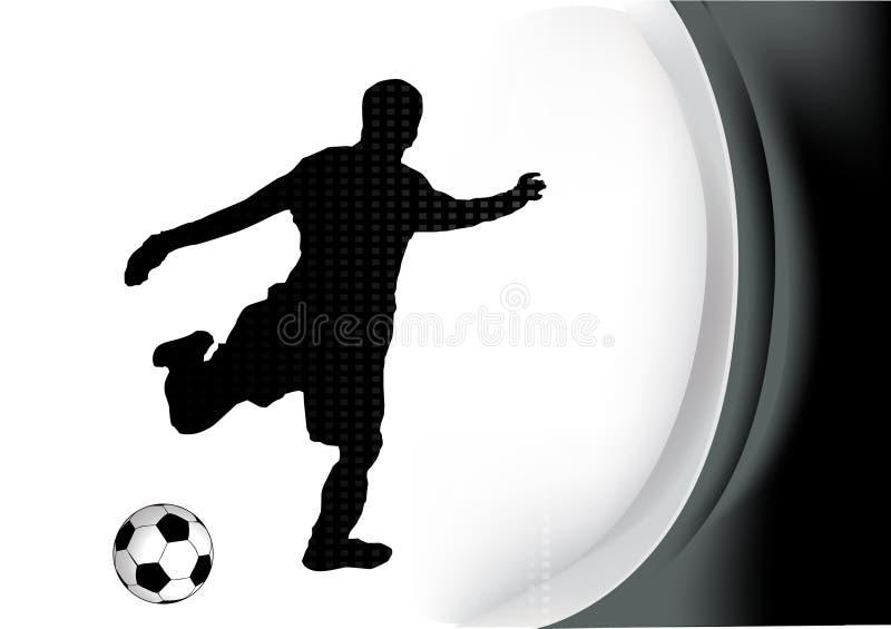ποδόσφαιρο φορέων απεικόνιση αποθεμάτων