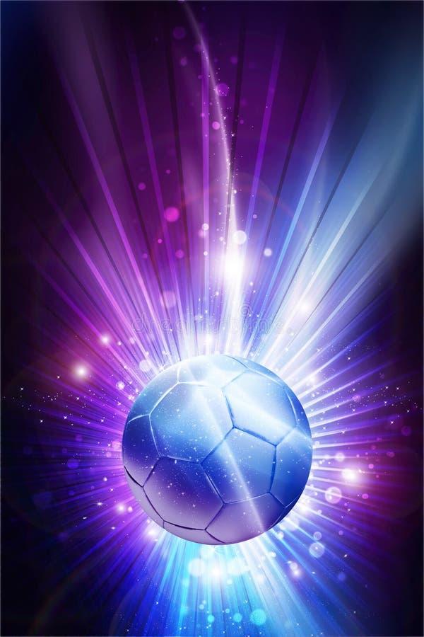 Ποδόσφαιρο όλα τα αστέρια ελεύθερη απεικόνιση δικαιώματος