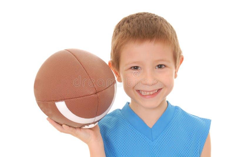 ποδόσφαιρο 2 αγοριών στοκ φωτογραφίες