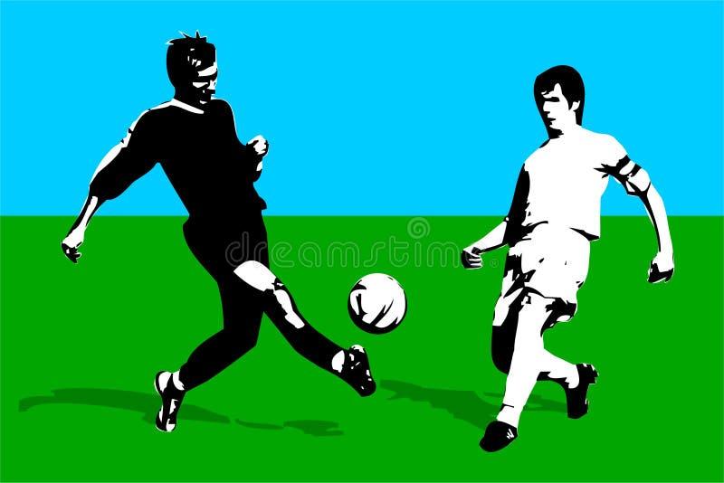 ποδόσφαιρο απεικόνιση αποθεμάτων