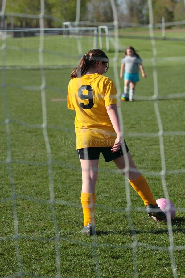Ποδόσφαιρο Goalie στοκ φωτογραφία με δικαίωμα ελεύθερης χρήσης