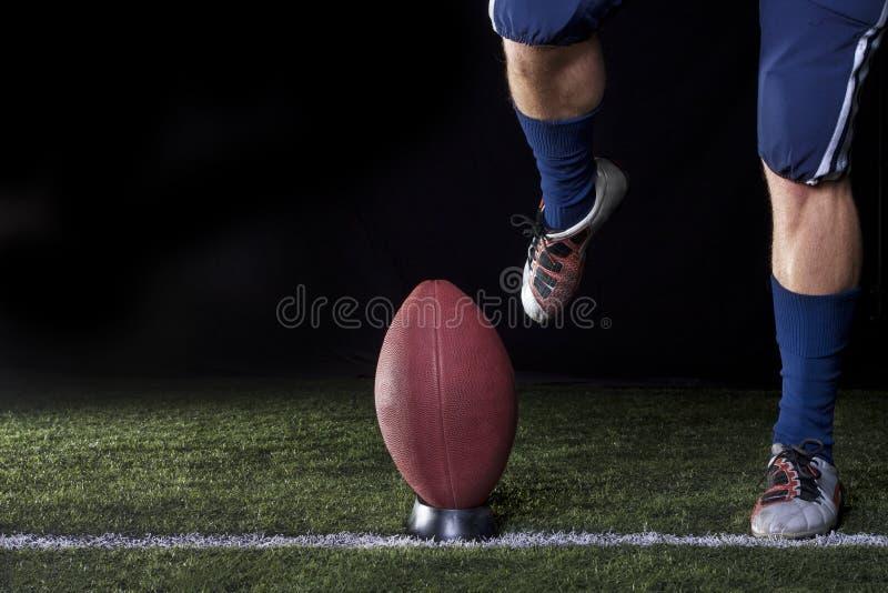 ποδόσφαιρο kickoff στοκ φωτογραφίες με δικαίωμα ελεύθερης χρήσης