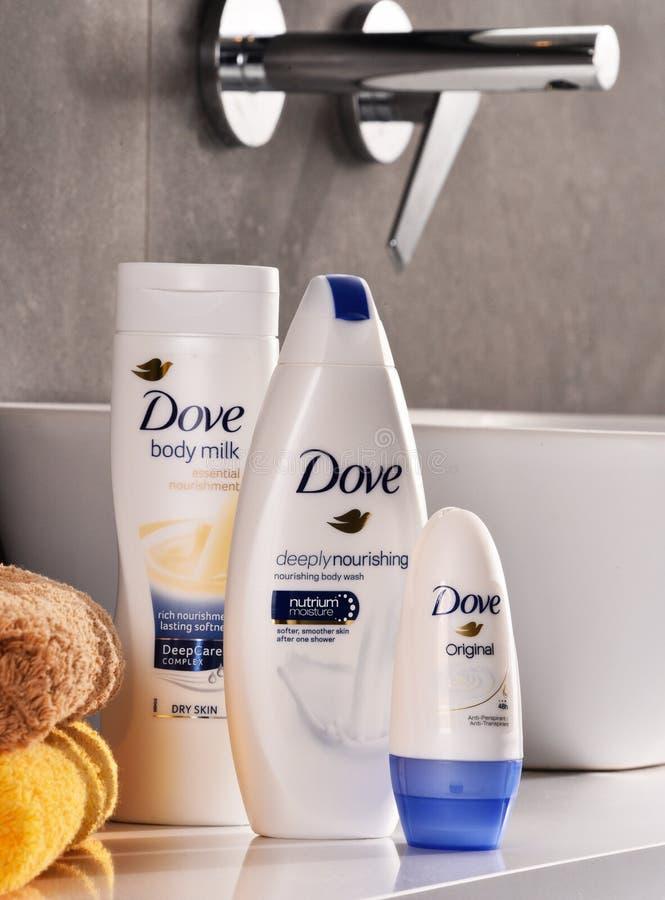 Ποικιλία των προϊόντων περιστεριών συμπεριλαμβανομένου του γάλακτος και του ανθιδρωτικού σωμάτων στοκ εικόνες με δικαίωμα ελεύθερης χρήσης