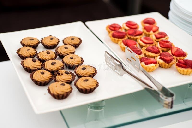 Ποικιλία των γλυκών στοκ φωτογραφίες
