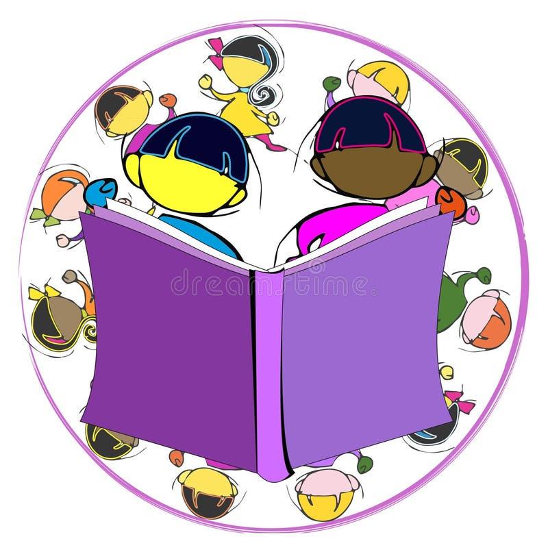 Ποικιλομορφία: παιδιά και εκπαίδευση ελεύθερη απεικόνιση δικαιώματος