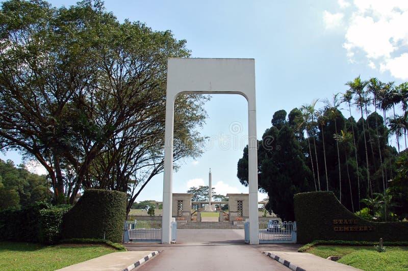 Πολεμικό μνημείο Kranji (Σινγκαπούρη) στοκ εικόνες με δικαίωμα ελεύθερης χρήσης
