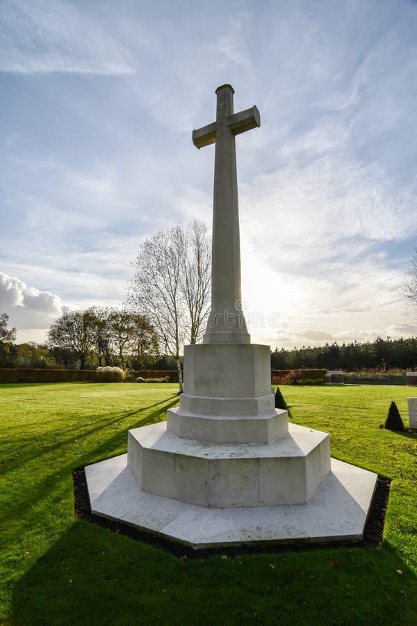 Πολεμικό νεκροταφείο αυλακώματος Cannock στοκ φωτογραφίες