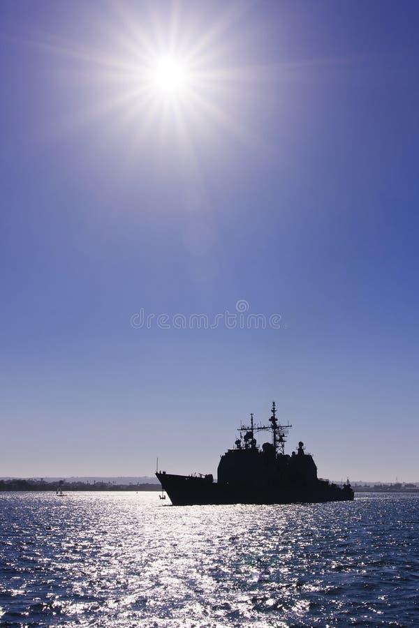 πολεμικό πλοίο εμείς πόλ&eps στοκ εικόνα