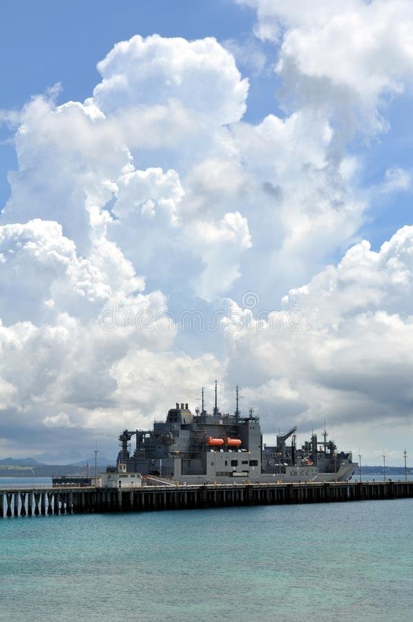 πολεμικό πλοίο εμείς στοκ εικόνα με δικαίωμα ελεύθερης χρήσης