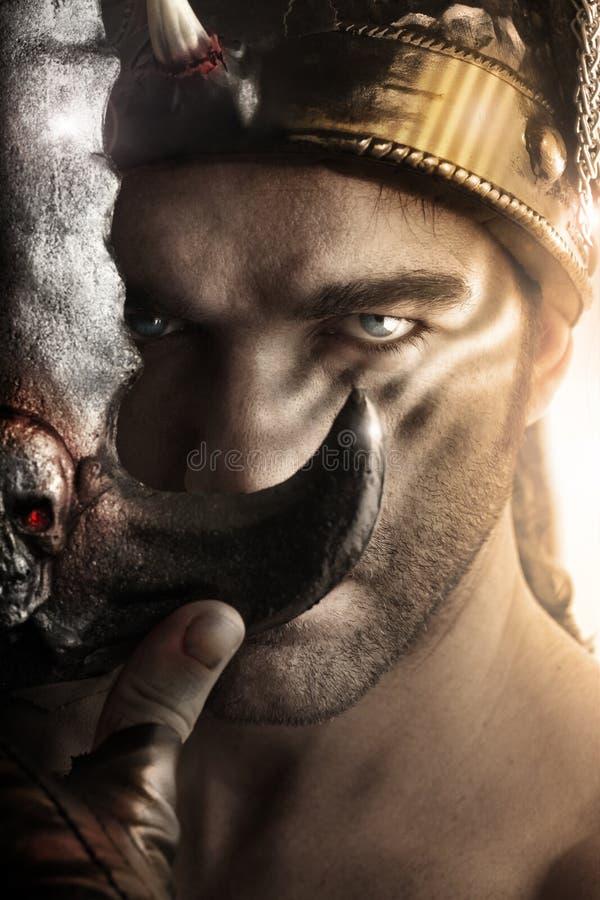 Πολεμιστής στοκ εικόνες με δικαίωμα ελεύθερης χρήσης
