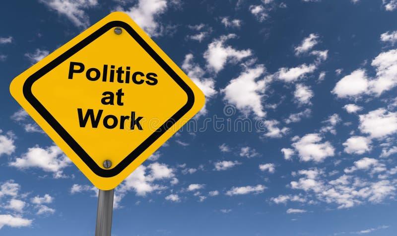 Πολιτική στην εργασία στοκ εικόνες με δικαίωμα ελεύθερης χρήσης