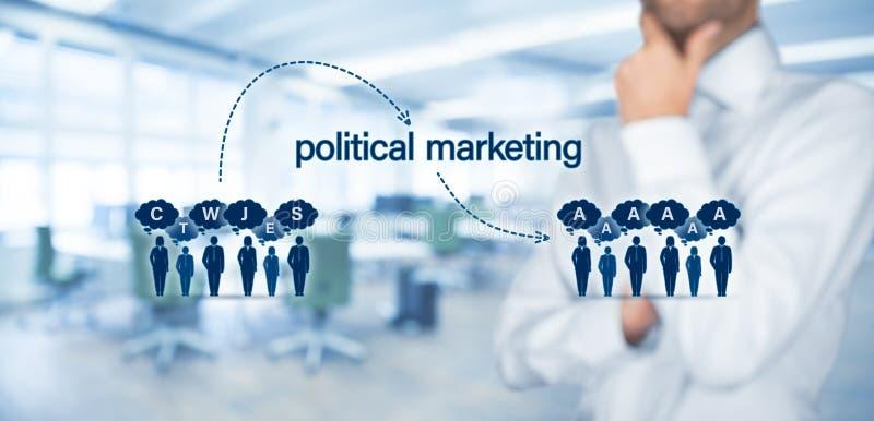 Πολιτικοί αντίκτυπος μάρκετινγκ και έννοια απειλής λαϊκισμού στοκ φωτογραφίες με δικαίωμα ελεύθερης χρήσης