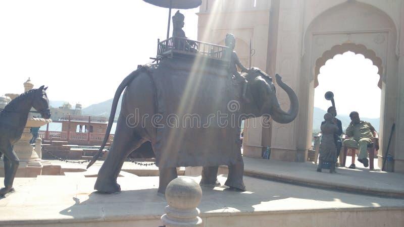 Πολιτισμός ελεφάντων και σημαντικός τους στην ινδική ιστορία στοκ εικόνες