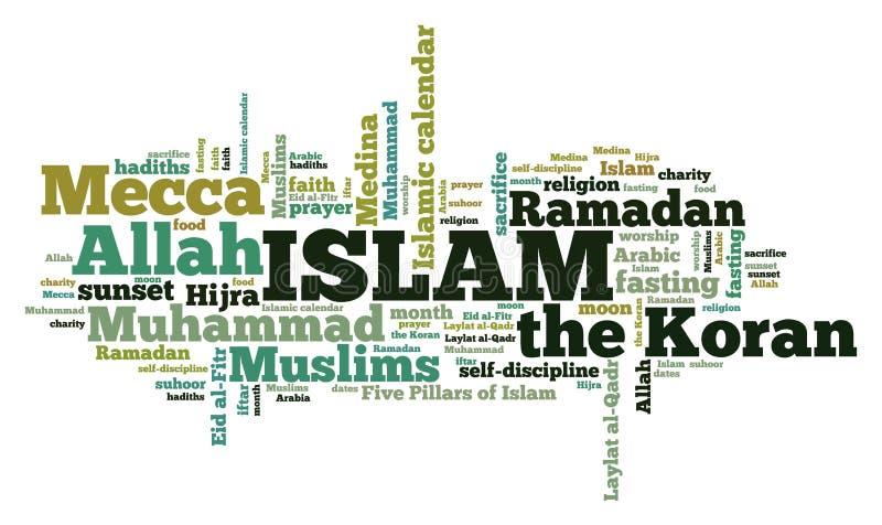 Πολιτισμός Ισλάμ διανυσματική απεικόνιση