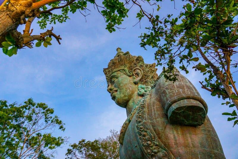 Πολιτιστικό πάρκο Μπαλί Wisnu Kencana Garuda στοκ εικόνα