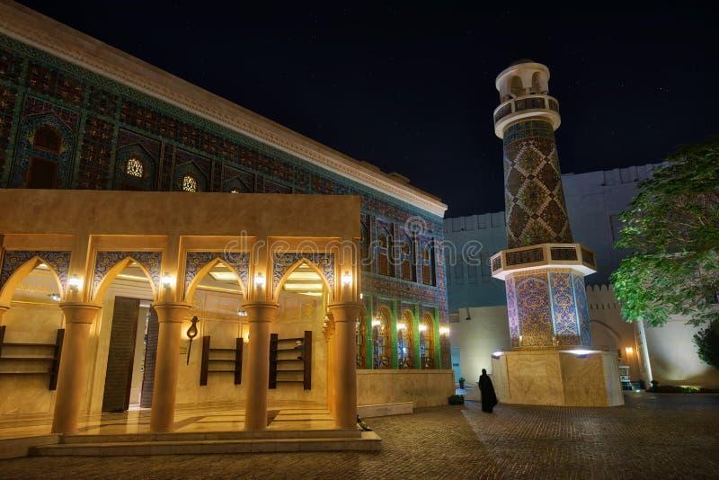 Πολιτιστικό χωριό Katara, Doha, Κατάρ στοκ εικόνες