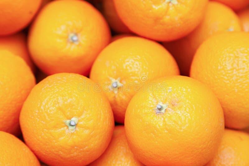 Πολλά νόστιμα ώριμα πορτοκαλιά μανταρίνια συσσωρεύονται στο μετρητή στην αγορά αγροτών Νέα έννοια φρούτων έτους, φρέσκος συμπιεσμ στοκ φωτογραφίες με δικαίωμα ελεύθερης χρήσης