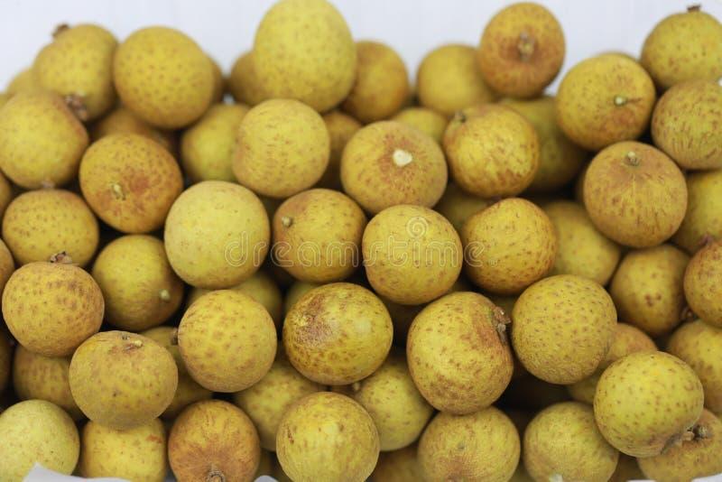 Πολλά φρέσκα φρούτα Longan στοκ φωτογραφία