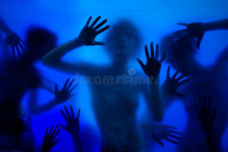 Πολλά χέρια και στοκ εικόνα με δικαίωμα ελεύθερης χρήσης