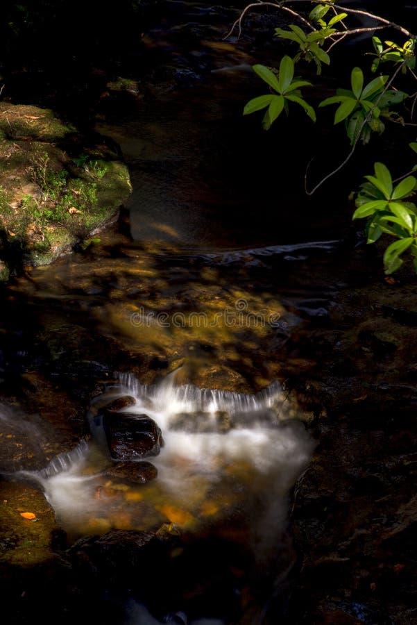 Πολλαπλάσια έκθεση του ρεύματος ενός ποταμού ΙΙ στοκ εικόνα