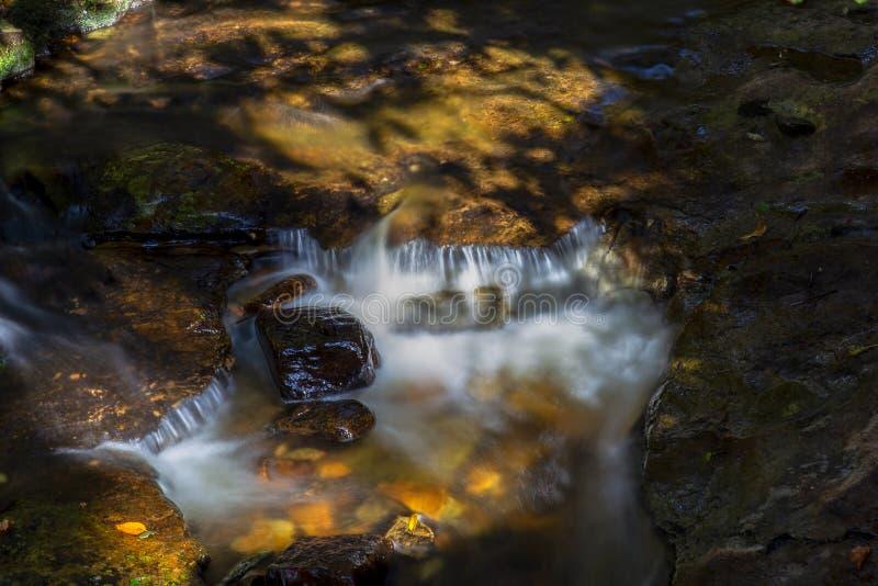 Πολλαπλάσια έκθεση του ρεύματος ενός ποταμού Ι στοκ φωτογραφίες