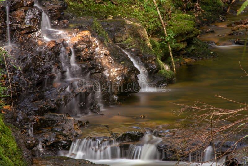 Πολλαπλάσια έκθεση του ρεύματος ενός ποταμού VI στοκ εικόνες με δικαίωμα ελεύθερης χρήσης