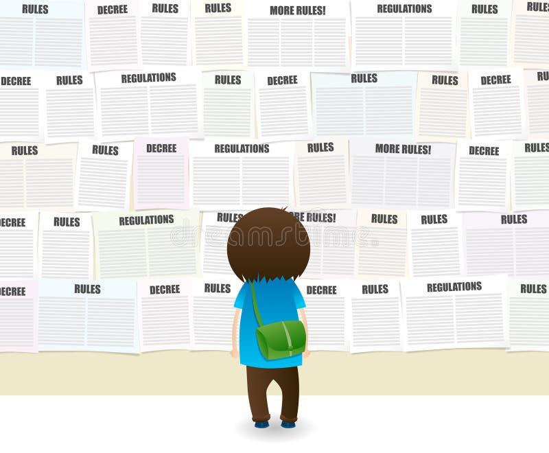 πολλοί κανόνες ελεύθερη απεικόνιση δικαιώματος
