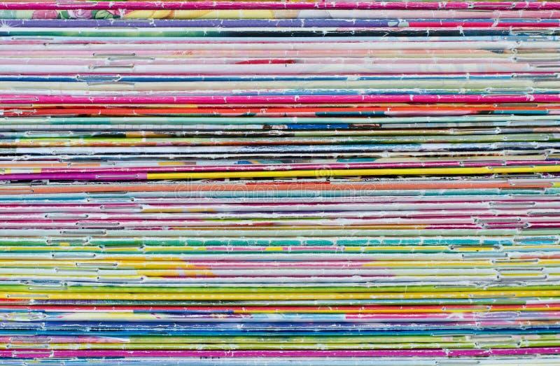 Πολλοί χρώμα των παλαιών περιοδικών comics στοκ φωτογραφίες