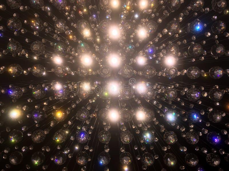 Πολυέλαιος κρυστάλλου στοκ φωτογραφία