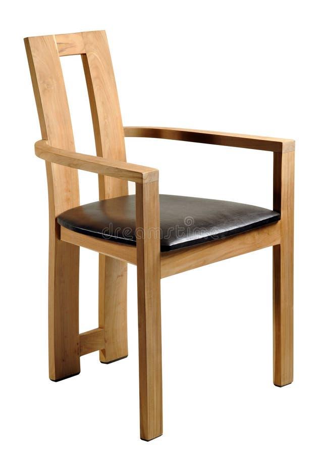 πολυθρόνα ξύλινη στοκ εικόνες