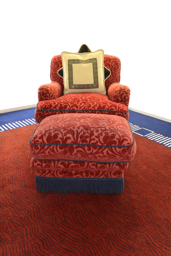 Πολυθρόνα πολυτέλειας στοκ εικόνα