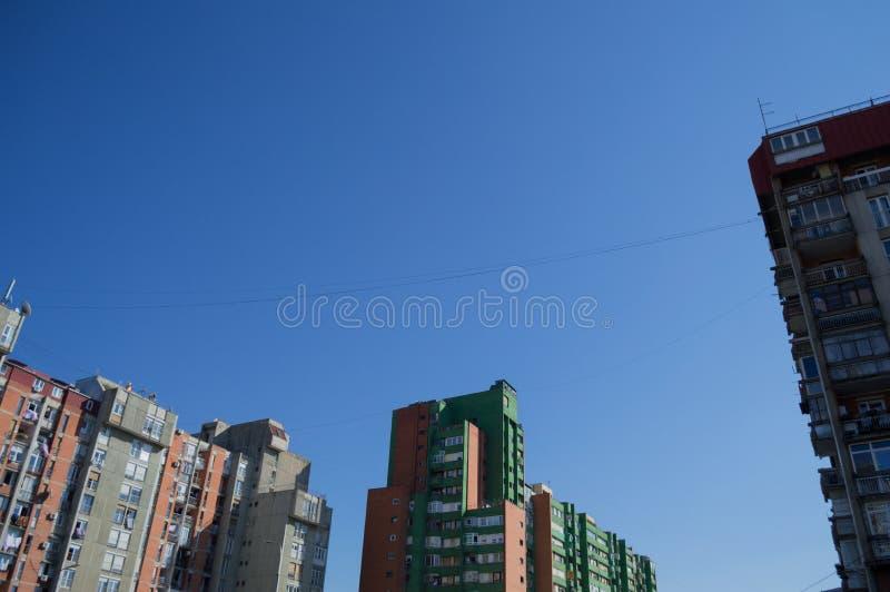 Πολυκατοικίες Pristina, Κόσοβο στοκ φωτογραφία με δικαίωμα ελεύθερης χρήσης